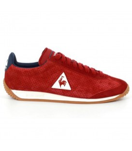 Zapatillas Le Coq Sportif Perforated Nobuck 1720087 de color rojo para mujer y niños. Otros modelos de LCS en chemasport.es