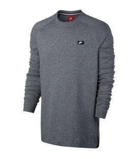 Camiseta de manga larga para hombre Nike Sportswar Modern Crew de color gris. Descubre éste y otros colores en nuestra web: www.chemasport.es. ¡Al mejor precio!