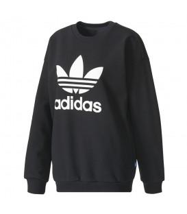 Descubre lo último de Adidas en nuestra web. Esta sudadera de la línea adidas Trefoil en negro y otros colores. ¡Compra ahora y recíbelo en 48 horas!
