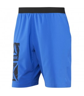 PANTALON REEBOK GRAPHIC SPEED SHORT HOMBRE AZUL