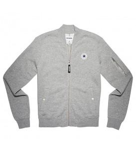 ¡Descubre la nueva colección de textil de Converse! Esta chaqueta tipo bomber es perfecta y súper calentita para tus entrenamientos en invierno.