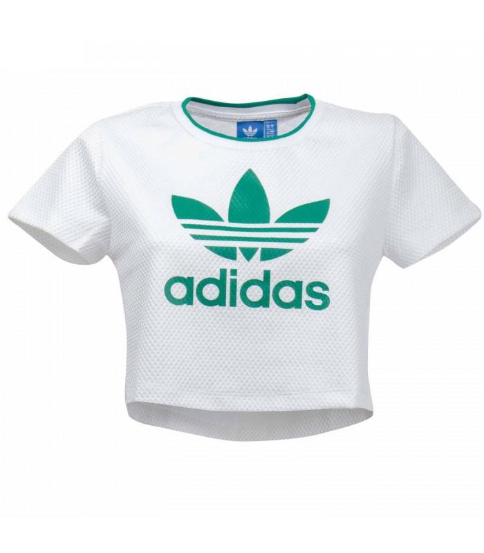 camiseta adidas crop top