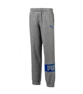 Pantalones deportivos de Puma para niños con forro interior polar. Pantalones Rebel Sweet en más colores en nuestra web (Ref 593736 03)