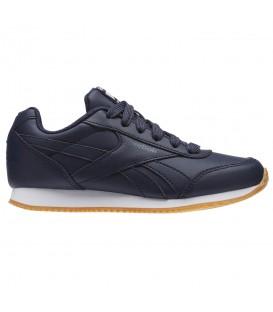 Zapatillas Reebok Royal CLJ BS8014 de color azul marino para mujer y niños con descuento y al mejor precio. Otros modelos de Reebok en chemasport.es