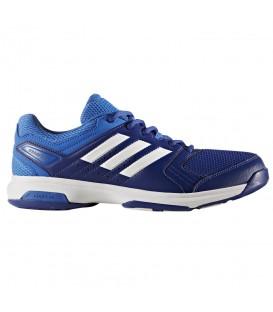 Zapatillas de balonmano Adidas Essence BY2448 para hombre de color azul al mejor precio. Otros modelos de balonmano en chemasport.es