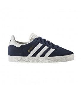 Zapatillas Adidas Gazelle C BY9162 para niños en color azul. Zapatillas para niños Adidas al mejor precio en chemasport.es