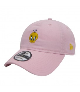 Gorra New Era Looney Tunes Tweetie Pie 9Forty 11497961 en color rosa. Gorra rosa Piolin al mejor precio en chemasport.es