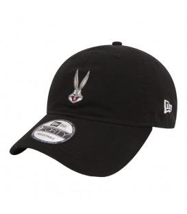 Gorra New Era Looney Tunes Bugs Bunny 9Forty 11497932 en color negro. Gorra Bugs Bunny en chemasport.es