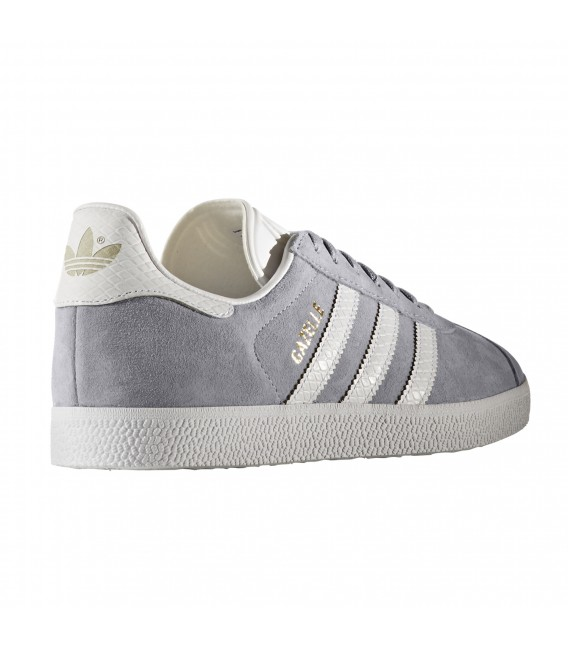 mujer adidas gazelle color gris