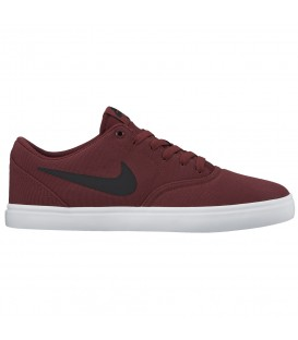 ZAPATILLAS NIKE SB CHECK SOLARSOFT CANVAS 843896-611 GRANATE