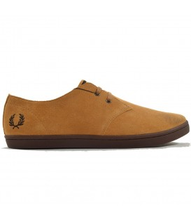 ZAPATOS FRED PERRY BYRON LOW SUEDE B7401E68 MARRON HOMBRE