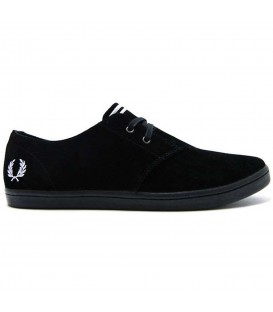 ZAPATILLAS FRED PERRY BYRON LOW SUEDE B7401102 NEGRO