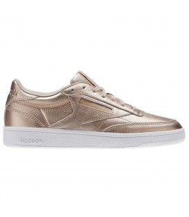 ZAPATILLAS REEBOK CLUB 85 MELTED BS7899 DORADO