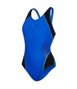 Bañador Speedo Fit Splice para mujer de color azul (Ref. 8-10379B716) Compra ahora tus bañadores al mejor precio en www.chemasport.es