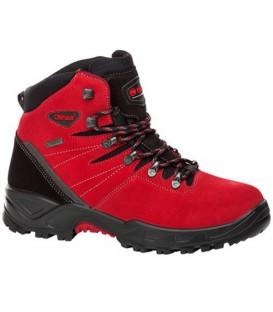Comprar online botas de trekking Chiruca Teide en color rojo. Envíos gratis por compras superiores a 50 euros