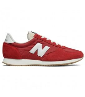 Zapatillas New Balance U220 Clasico Lifestyle para hombre de color rojo al mejor precio y gastos de envio gratis en chemasport.es