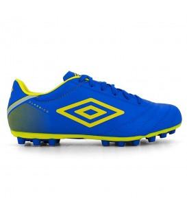 Botas de fútbol para hombre Umbro Classico C AG 85791U-FC5 de color azul para césped artificial al mejor precio y gastos de envío gratis.