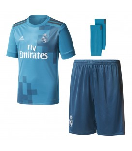 KIT adidas REAL MADRID 2017/2018 3ª EQUIPACIÓN YOUTH