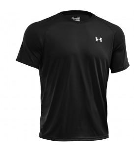 Camiseta de manga corta UA Tech™ para hombre de color negro (ref: 1228539-001).
