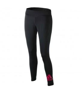 Mallas para mujer Adidas Women TF Tights de color negro y detalle en rosa (Ref: CE1112). Cómpralas ahora y recíbelas en 48 horas en cualquier punto de España.