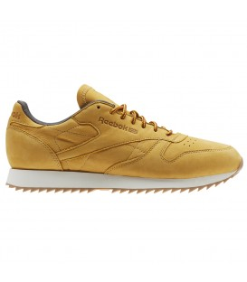 ZAPATILLAS REEBOK CL LEATHER RIPPL BS5204 AMARILLO