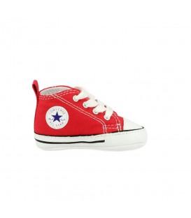 Patucos Converse First Star HI 8875 de color rojo para bebés. Otros patucos para bebé en chemasport.es