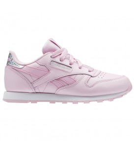 ZAPATILLAS REEBOK CLASSIC LEATHER BS8973 ROSA NIÑOS