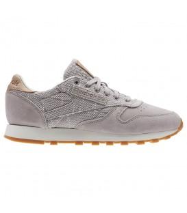Comprar zapatillas Reebok Classic Leather EBK BS7952 de color gris al mejor precio en chemasport.es