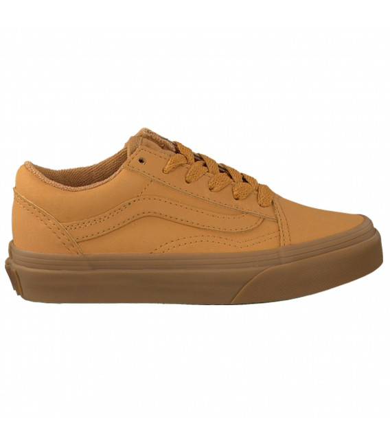 zapatillas vans marron
