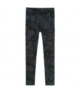 Originales mallas de mujer Desigual Yoga Metamorphosis con estampado floral en color gris/negro. Descubre la colección más deportiva de Desigual en nuestra web.