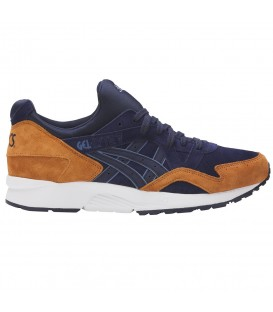 ZAPATILLAS ASICS GEL-LYTE V HL7B3-5858 AZUL MARRON