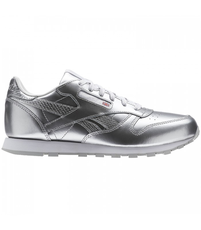 Classic Metallic Classic Reebok Metallic Leather Shoes Leather Shoes Reebok Reebok Hv8EEBxq