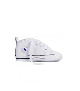 Patucos para bebé Converse First Star HI 88877 de color blanco. Otros modelos de patucos de Converse en Chema Sport.