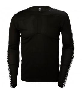 Compra ahora esta camiseta técnica de Helly Hansen en color negro con tejido super ligero HH LIFA®. Descubre más colores en www.chemasport.es