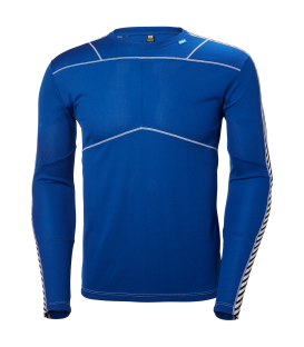 Camiseta térmica De Helly Hansen Hh Lifa Crew Black en color azul (Ref: 48300_563).