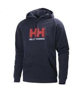Sudadera con capucha Helly Hansen HH Logo Hoodie de color azul. Más colores disponibles en la web. Cómprala ahora al mejor precio. Ref: 54313_597