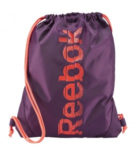 Saquito Reebok SE Gymsack AB1134 en violeta, entra en chemasport.es y escoge tu favorito entre todos nuestros saquitos.