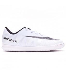 Zapatillas de fútbol Sala para hombre Nike Mercurial Vortex III CR7 852533-401 de color blanco al mejor precio en chemasport.es