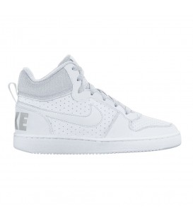 ZAPATILLAS NIKE COURT BOROUGH MID GS SHOE 839977-100 BLANCO
