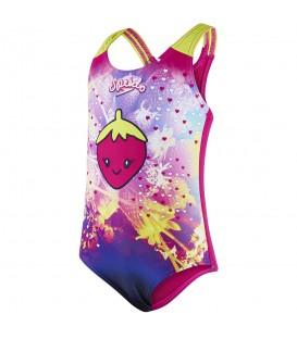 Bañador Speedo Starfizz Essential 8-10412B845 para niña en color rosa, bañadores para niña al mejor precio en chemasport.es