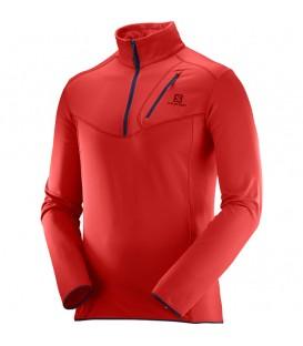Camiseta Salomon Discovery HZ para hombre perfecta para la práctica de cualquier actividad deportiva al aire libre. Ref: L39727300