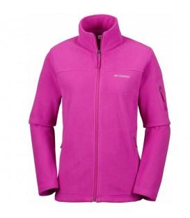 Compra ahora tu chaqueta Columbia Fast Treck II para mujer de color rosa y recíbela en 48 horas. Los mejores precios en www.chemasport.es