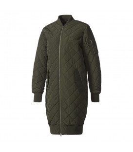 CAZADORA adidas LONG BOMBER QUILTED