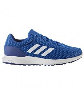 Zapatillas de running para hombre adidas Cosmic BB3366 de color azul al mejor precio para tus carreras de cada día. Otros modelos de running en chemasport.es
