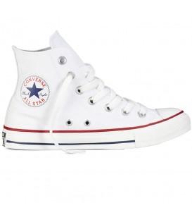 Zapatillas Converse All Star Hi M7650C. El modelo clásico en color blanco al mejor precio de internet en chemasport.es