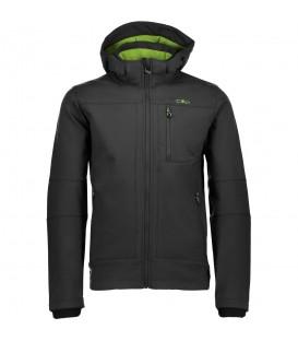 Chaqueta Campagnolo Man Zip Hood de color gris con forro verde de la marca italiana Campagnolo. Descúbrela al mejor precio en www.chemasport.es R: 3A01787N 19BB