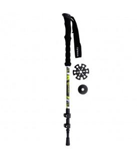 Bastón Ternua Kang Pole 2640014 2066 en color negro y verde, bastones para trekking en chemasport.es