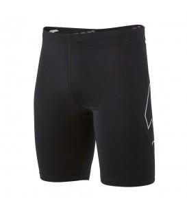 Malla corta Joma Metropoli 100750.100 para hombre en color negro, mallas de running en chemasport.es