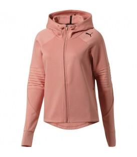 Compra ahora tu chaqueta para mujer Puma Evostripe FZ de color rosa. Envíos nacioanles. Gratis a partir de 50 euros. Cambios de talla gratuitos.