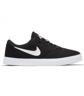 ZAPATILLAS NIKE SB CHECK CANVAS GS 905373-003 NEGRO